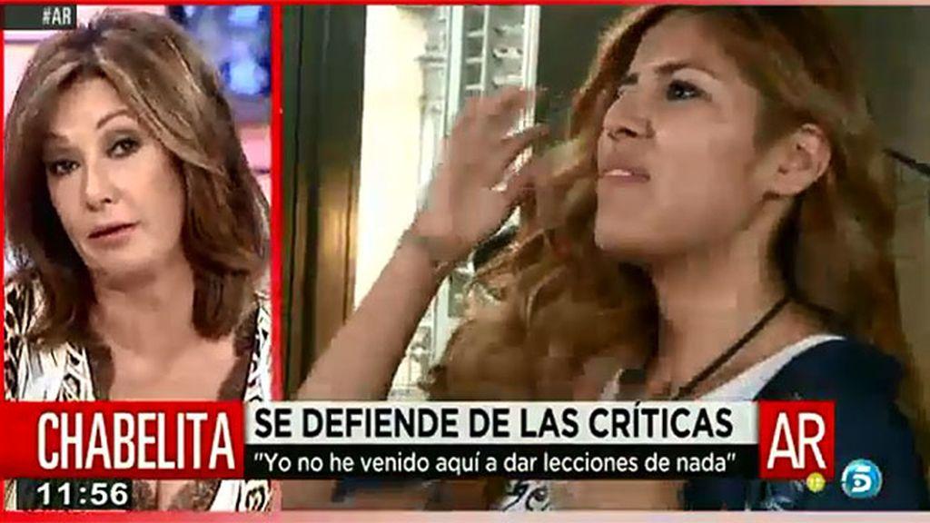 """Ana Rosa Quintana, molesta con 'Cazamariposas': """"No me saquéis más"""""""