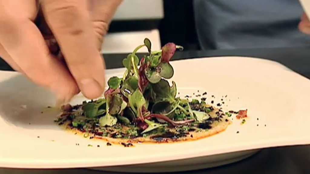 La receta en la Taberna El Clarete: Carpaccio de alcachofa