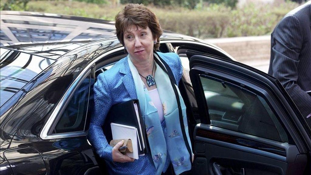 La alta representante de la Unión Europea, Catherine Ashton. EFE/Archivo