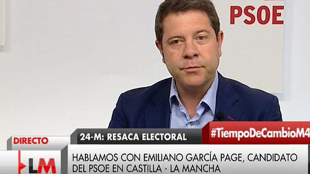 """Emiliano García - Page: """"No tenemos ningún pacto a estas alturas con Podemos"""""""