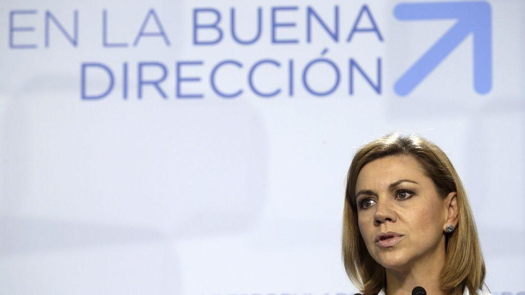 Cospedal pide explicaciones a Aguirre por mantener al gerente que usó una tarjeta B