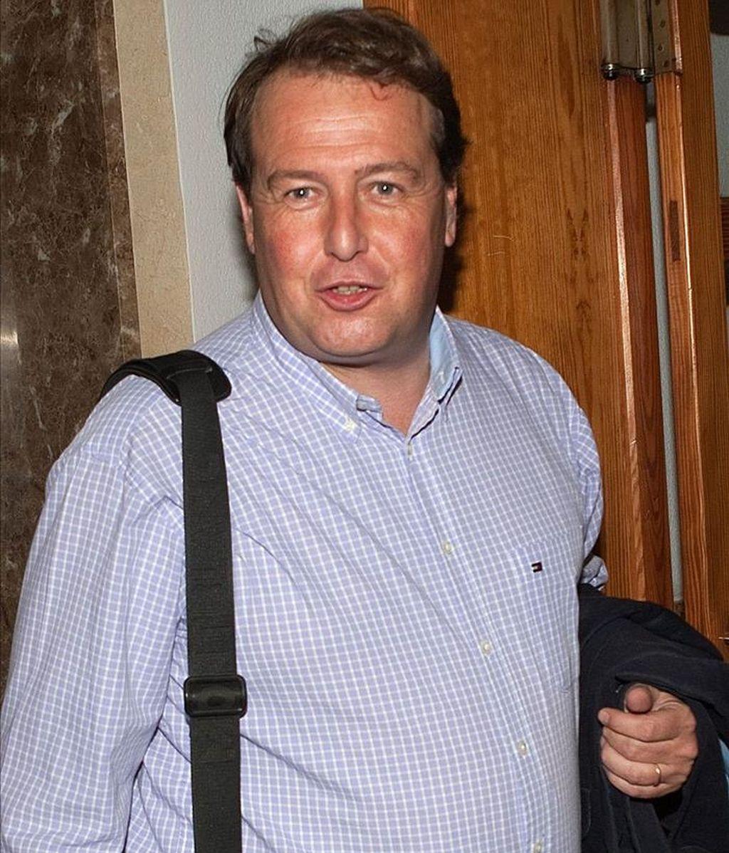El ex conseller de Turismo de Unión Mallorquina (UM), Francesc Buils, a su llegada a los juzgados de instrucción. EFE/Archivo