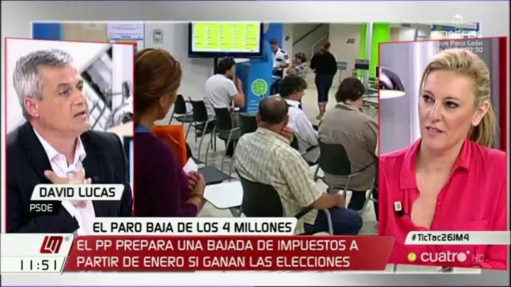 """David Lucas (PSOE): """"Lo que se está creando son pobres que trabajan"""""""