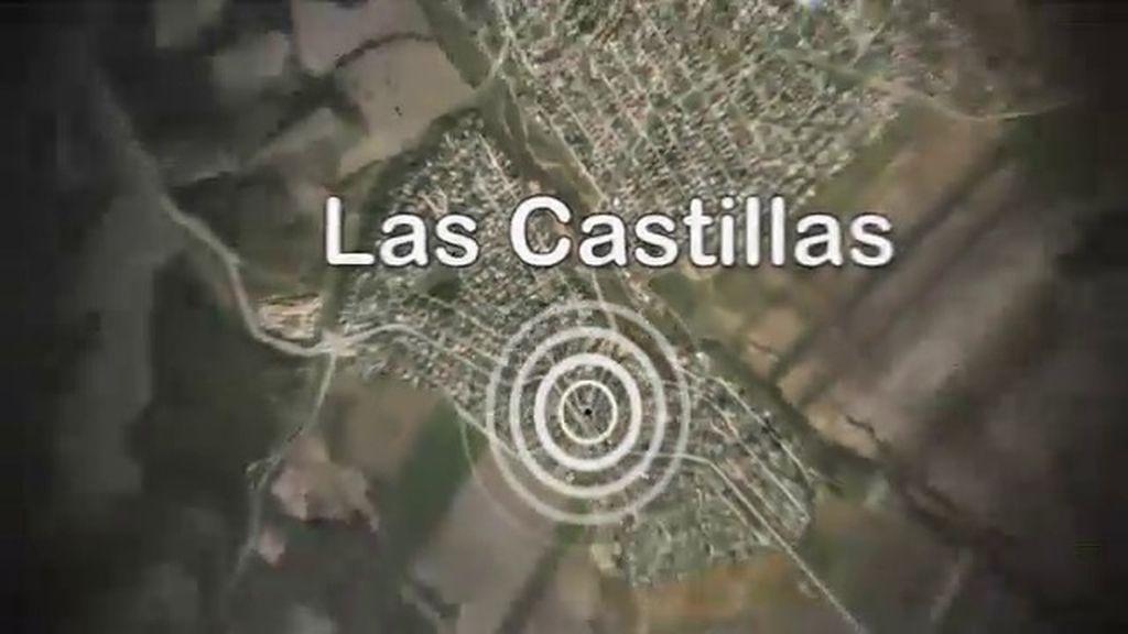 Localización aérea de la urbanización Las Castillas