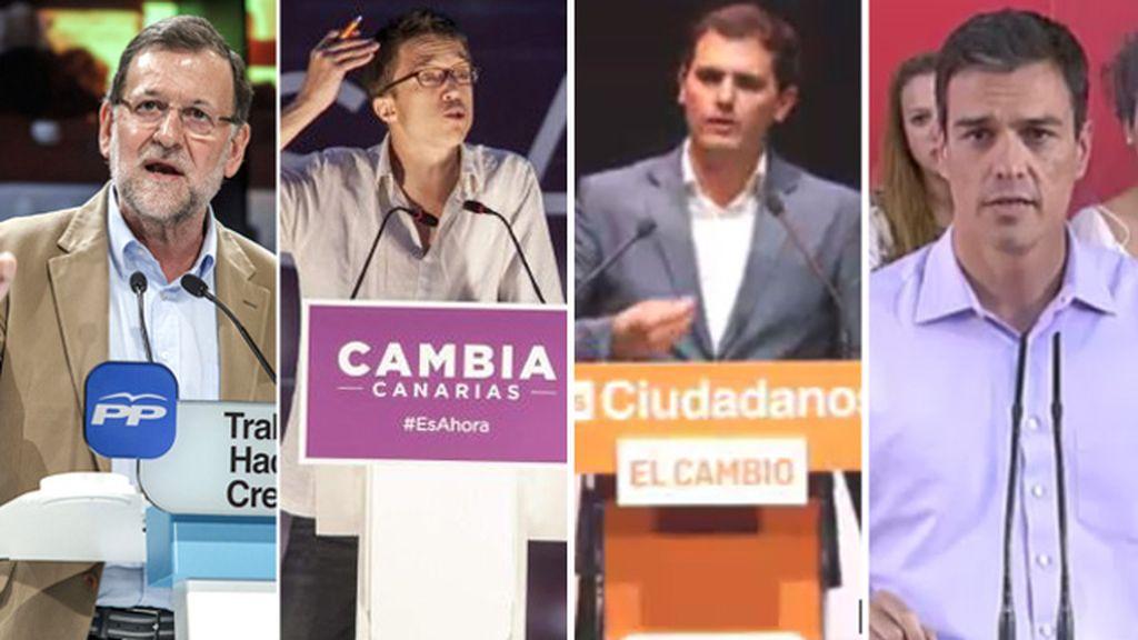 Los partidos echan el resto ante la incertidumbre de los resultados electorales