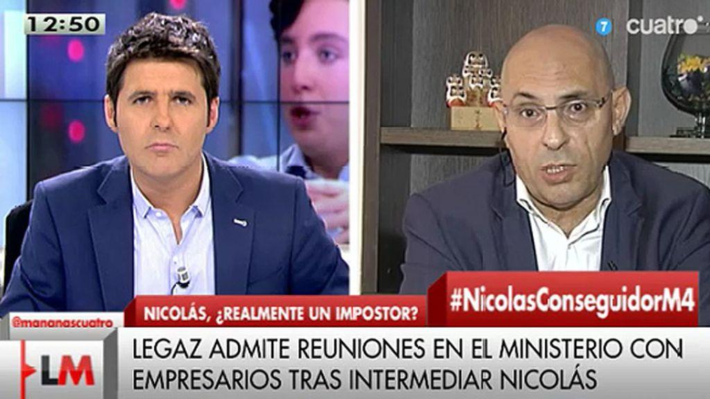 """Silva, de Francisco Nicolás: """"Creo que se ha hecho un ajuste de cuentas al Gobierno"""""""