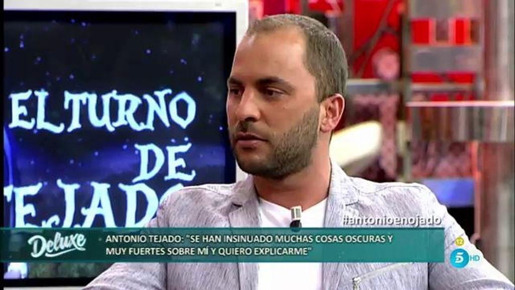 """Antonio Tejado, sobre su ruptura: """"Ha sido cosa de dos. No hemos sabido sobrellevarlo"""""""