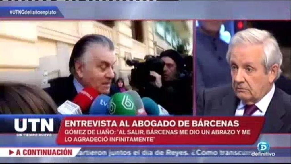 """G. de Liaño, sobre la relación con el PP: """"Le he dicho a Bárcenas que guarde silencio"""""""