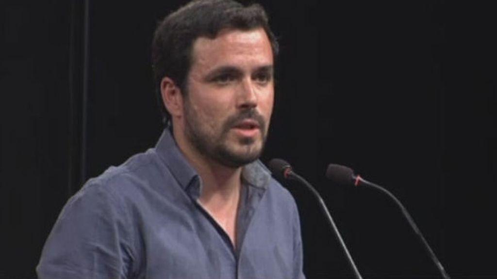 """Alberto Garzón: """"Podríamos alcanzar la mayoría absoluta"""""""