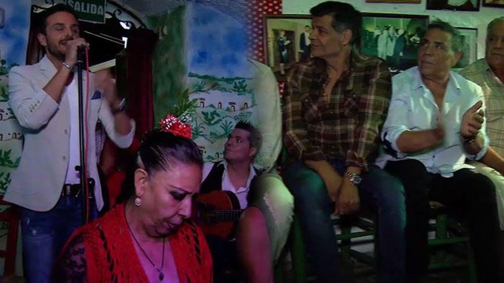 Los Chunguitos y Los Maya, juntos en la inauguración de La Cueva de La Rocío