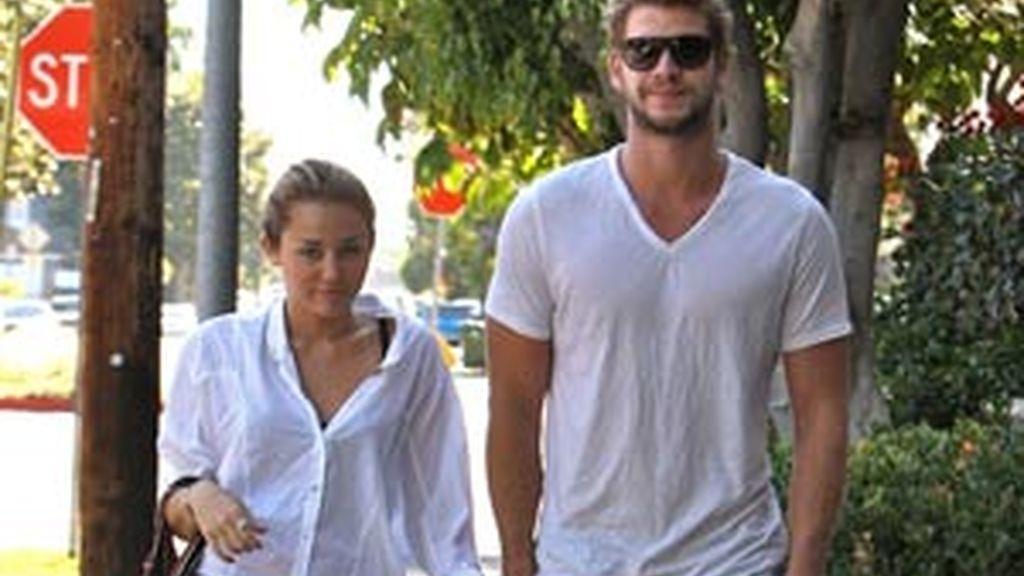 La pareja, poco antes de dejar la relación el verano pasado FOTO: GTRES