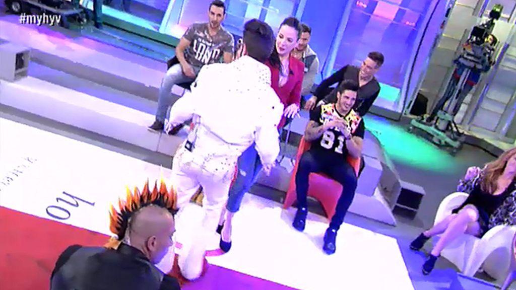 Adrián, el rockero ganador de Samira