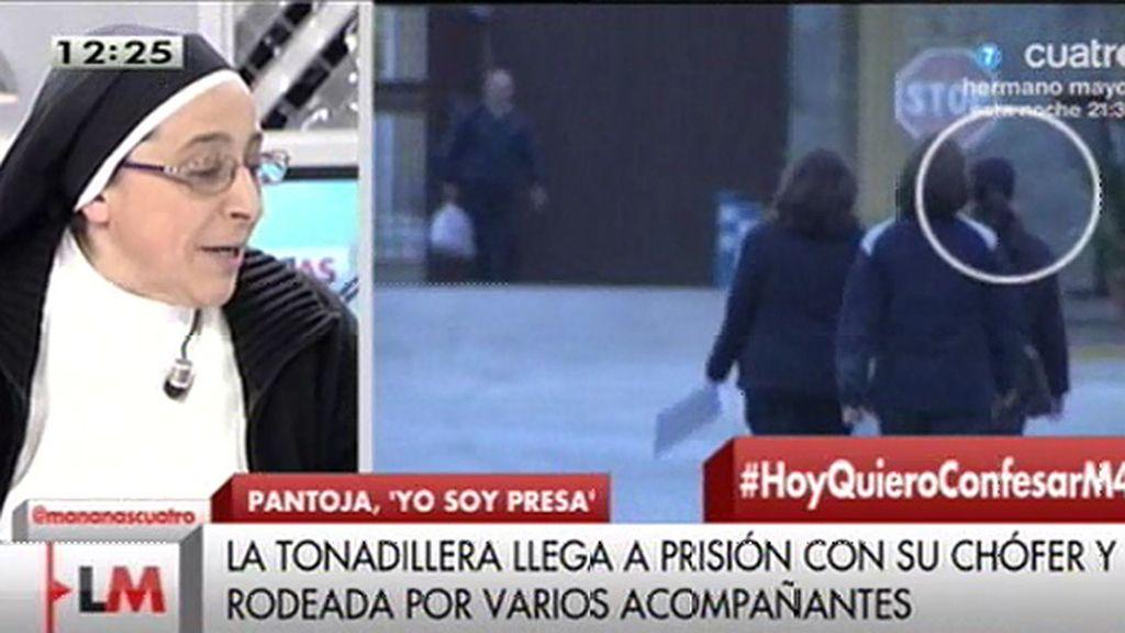 """Sor Lucía, de Pantoja: """"Es el otro rostro de la corrupción, no es solo patrimonio de políticos"""""""
