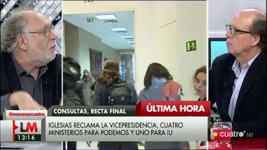 La propuesta de Iglesias, a debate en 'LMDC'