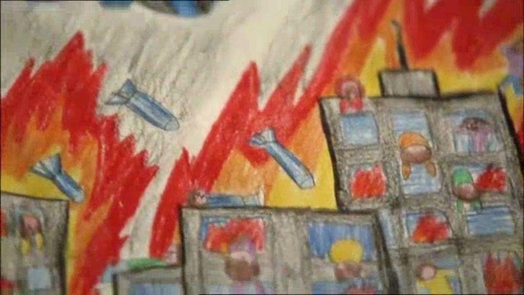 Los dibujos de la invasión