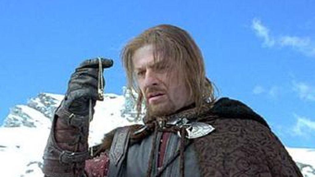 El actor Sean Bean en su papel de Boromi, en la saga de 'El señor de los anillos'.