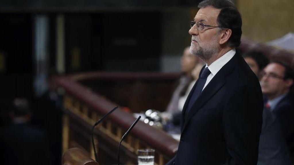 """Rajoy: """"No pido la luna, señorías, pido un Gobierno previsible"""""""