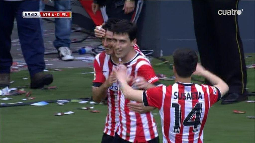 ¡Jugada y gol espectacular de Aduriz!