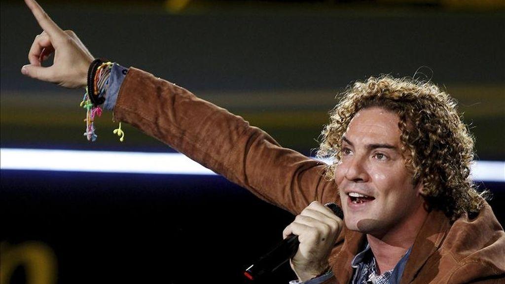 El cantante David Bisbal. EFE/Archivo