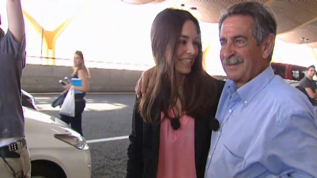 Revilla emocionado y sin palabras ante la sorpresa de su hija
