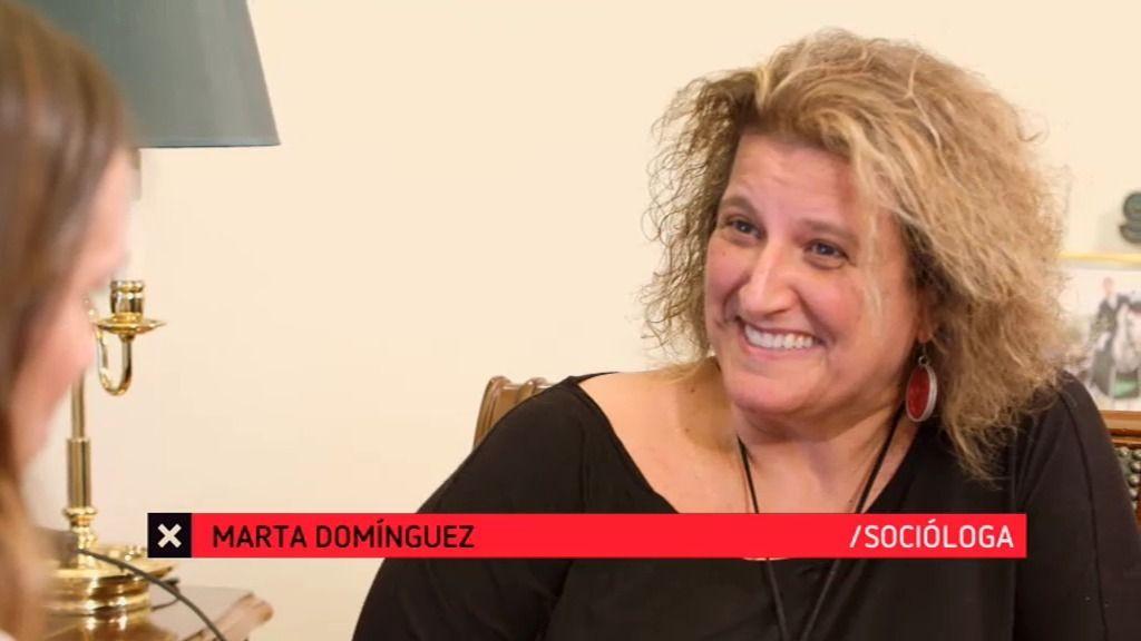 """Marta: """"Cada día es menos normal ser una familia tradicional de padre, madre e hijos"""""""