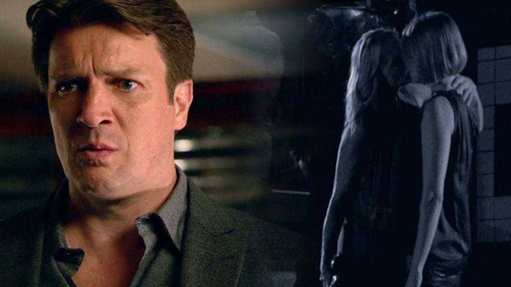 """Castle: """"¿La víctima y la asesina tenían un aventura? ¿Por qué me sale voz de pito?"""""""