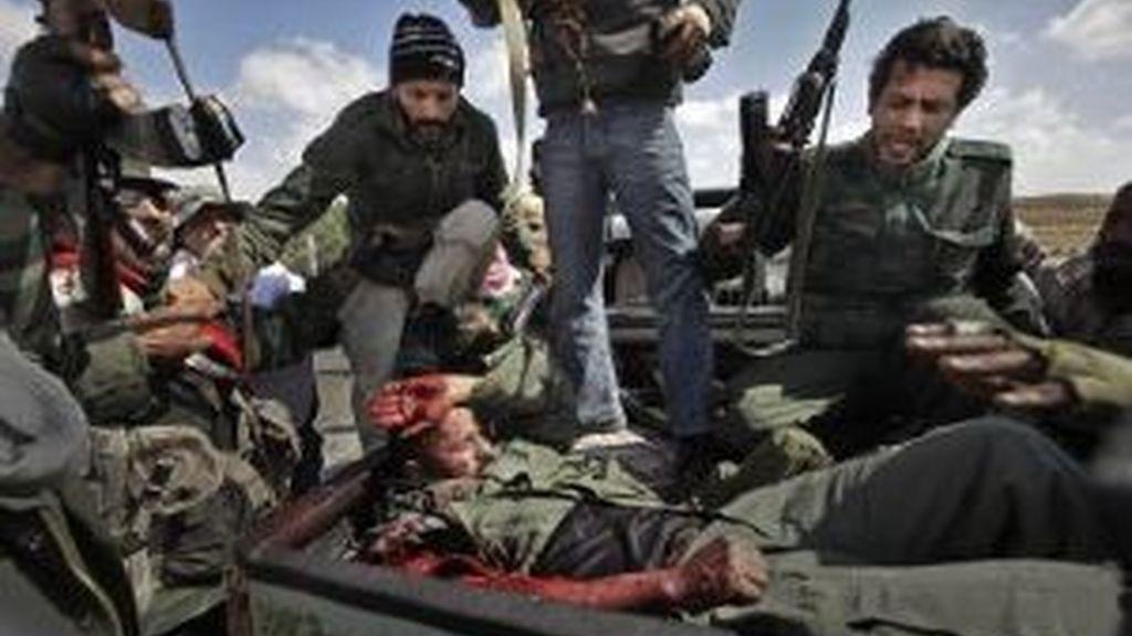 Resistencia rebelde. Foto: EFE.