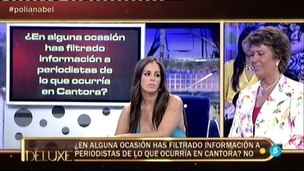 El 'Poli' desvela que…¡Anabel ha filtrado información de Cantora a los periodistas!