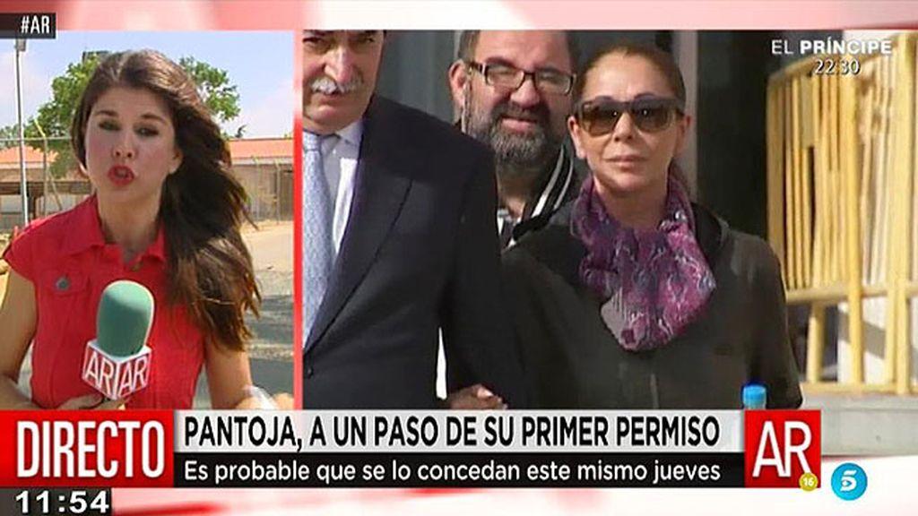 La Junta de tratamiento decide el jueves si se concede el primer permiso a Pantoja