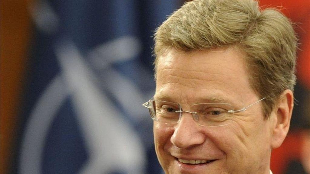 El ministro alemán de Asuntos Exteriores, Guido Westerwelle. EFE/Archivo