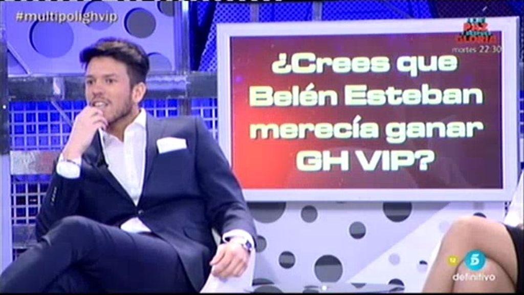"""Fede, sobre Belén: """"No merecía ganar"""""""