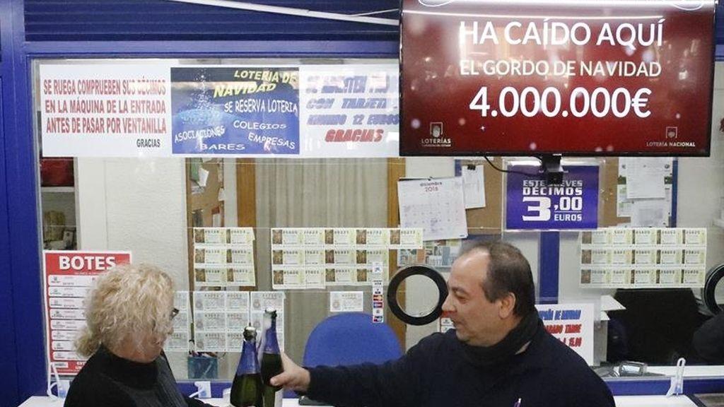 Celebran el Gordo de Navidad en Madrid: El número 66.513