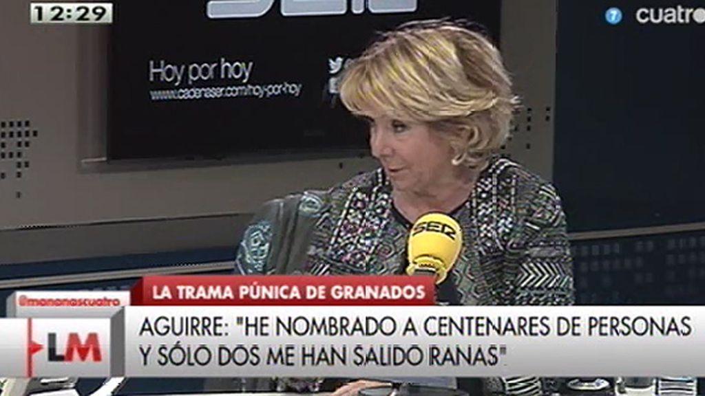 """E. Aguirre: """"Trabajo en una empresa de cazatalentos, el 2% de fallos se puede tener"""""""