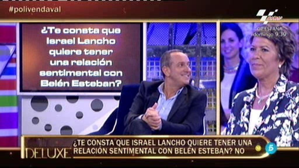 El 'Poli' pilla a Víctor: ¡Israel Lancho quiere tener una relación con Belén!