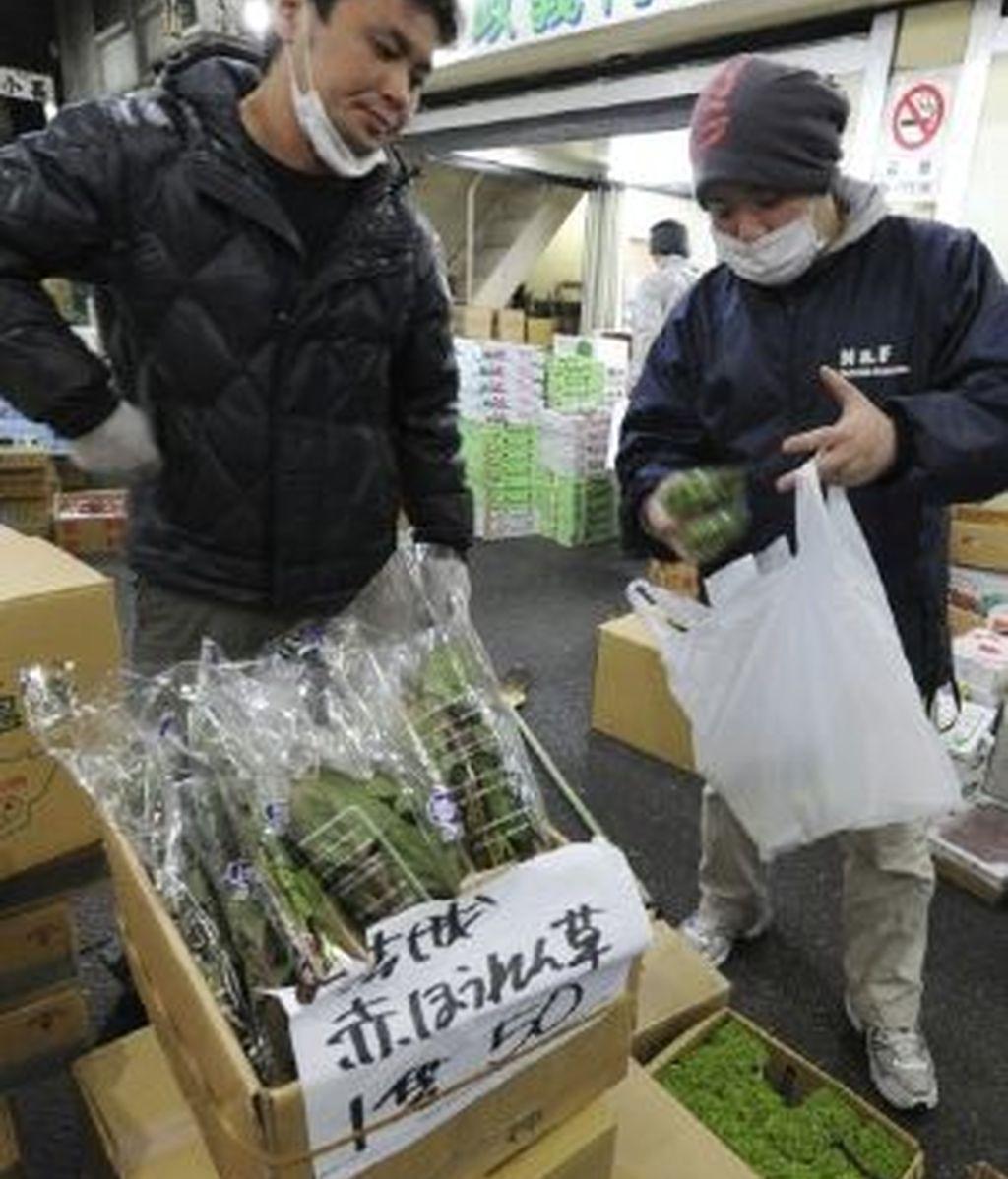 Llegan los productos nipones. Foto: EFE.