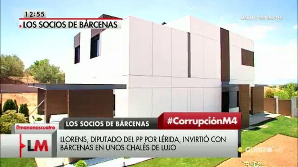 Llorens, diputado del PP por Lérida, invirtió con Bárcenas en chalés de lujo