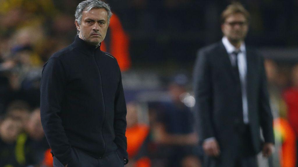 José Mourinho durante el partido de Liga de Campeones ante el Borussia de Dortdmund