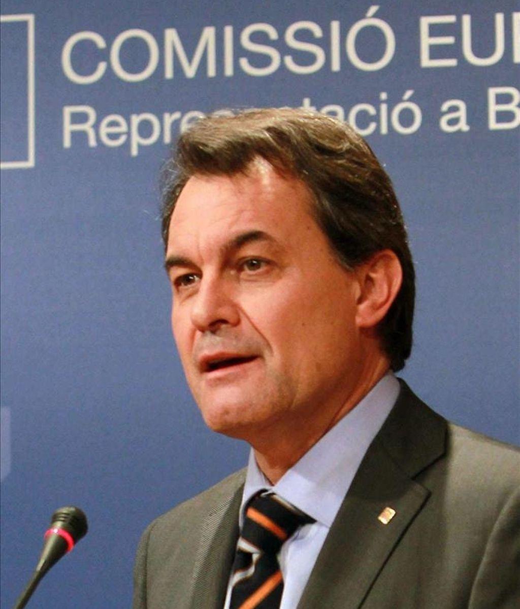 En la imagen, el presidente de la Generalitat, Artur Mas. EFE/Archivo