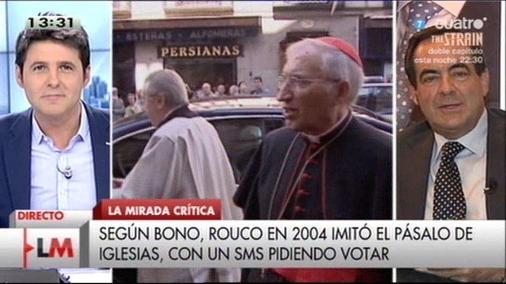 """Bono: """"Ningún gobierno europeo ha tratado mejor a la Iglesia que el de Zapatero"""""""