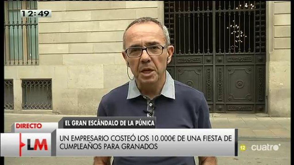 """J. Coscubiela: """"Conseguiremos que Rajoy no comparezca ante las generales con un ataque de amnesia de la ciudadanía"""""""