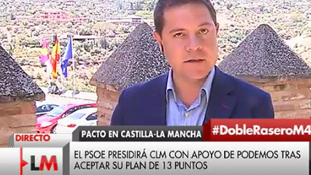 García-Page anunciará iniciativas para el empleo en el discurso de investidura
