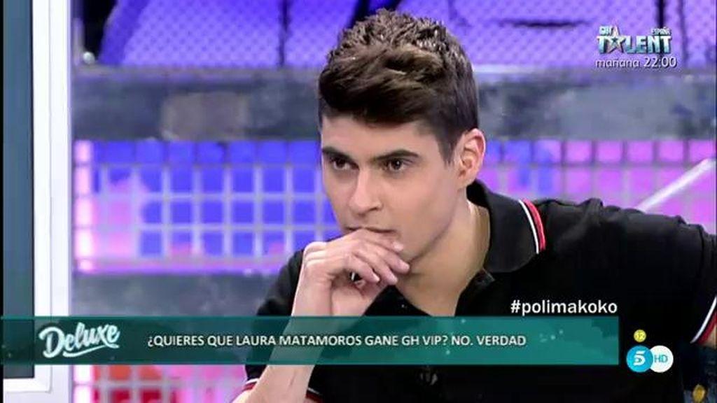 Javier Tudela no quiere que Laura Matamoros gane 'Gran Hermano VIP'