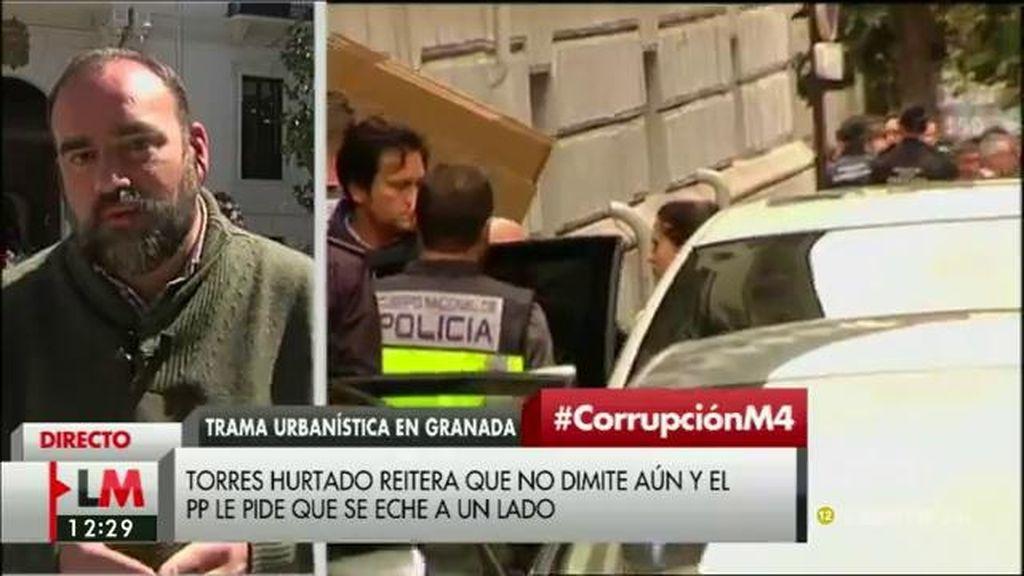 """Paco Puentedura, concejal de IU en Granada: """"El PP no puede seguir gobernando ni un minuto más en Granada"""""""