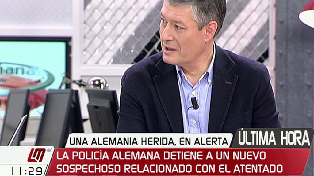 """J.M. Benito, de la detención de un hombre no implicado en el atentado: """"Ha sido un error grave que requiere alguna explicación más"""""""