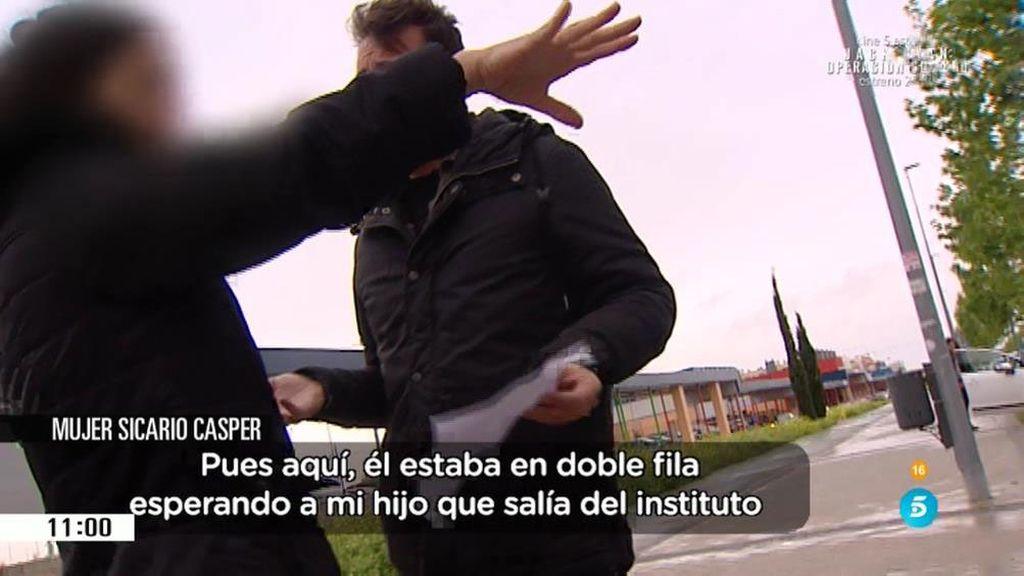 """'AR' habla con la mujer de Sanfrutos: """"No ha matado a un butronero"""""""