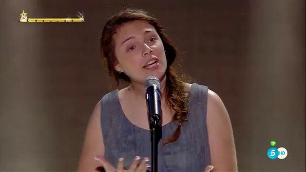 El escenario de 'Got Talent' se tambalea con la potente voz de Arianna Moia