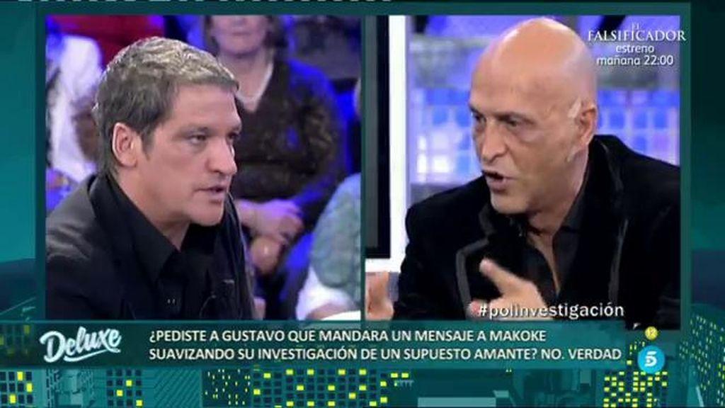 Matamoros pidió a Gustavo que aclarara la supuesta investigación de infidelidad