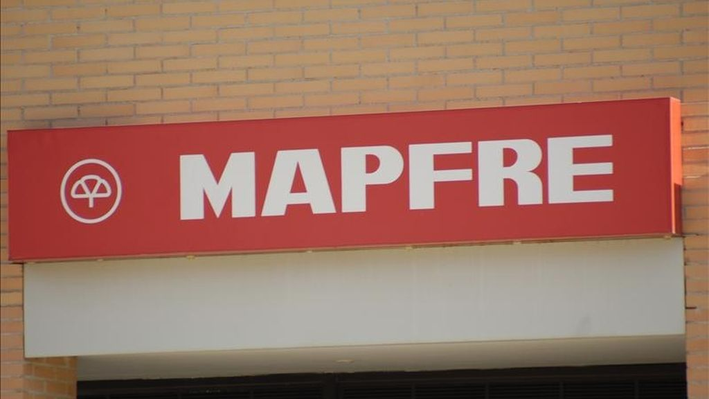Logotipo de la Compañía Mapfre. EFE/Archivo
