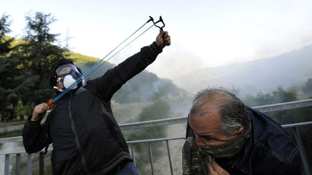 La protesta de los mineros cobra tintes violentos
