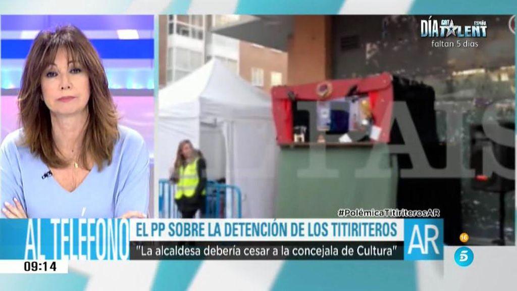 """P. Manglano: """"El Ayuntamiento de Madrid no sabe ejercer la responsabilidad del Gobierno"""""""